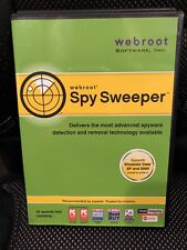 Webroot Spy Sweeper Windows 2003-2007 Software plus Case