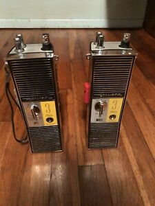 Vintage Realistic Transceiver Model Trc 202 And Trc 99c Comes With Leather Case
