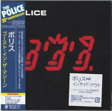 POLICE: GHOST IN THE MACHINE (VERY RARE JAPAN MINI-LP CD) 1. EDITION / STING
