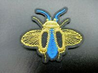 parche escarabajo azul insecto animal patch ropa bolso iron sew clothing plancha