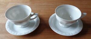 Rosenthal Classic Rose - 2 Kaffeetassen mit Unterteller