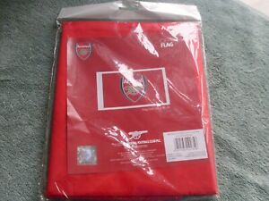 Arsenal fc 152cm x 91cm large flag, new @ sealed, official product