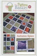 Autumn Spice ~ Quilt Quilting Pattern ~ The Pattern Basket