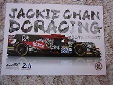 Carte 24 Heures du Mans n°37 JACKIE CHAN  24 H
