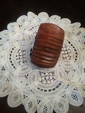 Bangle Bracelet by Spiegel Beautiful Vintage Boho Wood Grain