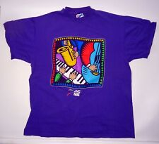 1994 Jvc Newport Jazz Festival T-Shirt, Large, In Wonderful Condition!