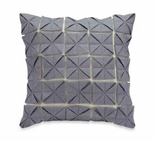 "Anthology Jolie 14"" Square Decorative Toss Pillow Grey  NEW"
