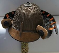 62 plate kabuto antique Momoyama japanese samurai sword armor helmet