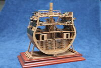 USS Bonhomme Richard POF Cross Section - Pear - 1:48 Wood Ship Model Kit