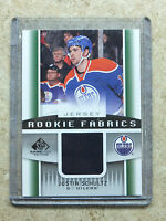 13-14 UD SPGU SP Game Used Rookie Fabrics RC Jersey JUSTIN SCHULTZ