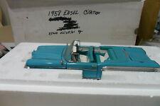 FRANKLIN MINT 1958 EDSEL FREE SHIPPING LOT 0 1 0 1 1 31354