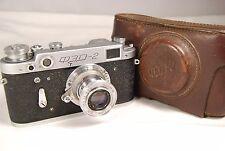 FED-2 USSR Leica copy camera with Industar-50 tube lens 50mm f/3.5