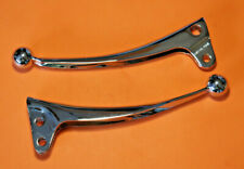 TRIUMPH T140 T150 T160 CHROME CLUTCH BRAKE LEVERS 60-3981 60-4206 1971-74 UK
