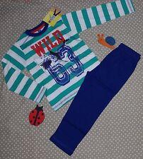 NEUF ✿❀ Ensemble pyjama nuit garçon haut + pantalon ✿❀ Lenny Sky Shark ✿❀ 4 ans