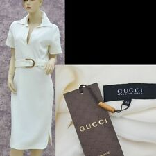 GUCCI New sz 4 40 Authentic Designer Cocktail Party Evening Dress w Bamboo Belt