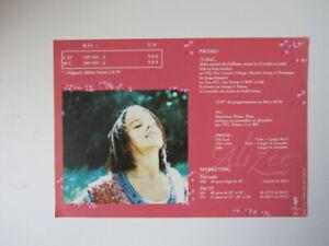 "ALIZEE PLAN MEDIA""PREMIER ALBUM"" POLYDOR 2001 . ETAT NEUF , SANS PLIURE ."