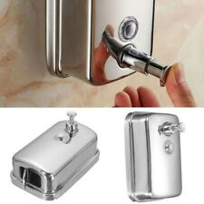 500ml Bathroom Soap Dispenser Wall Mounted Container Hand Press Stainless Steel