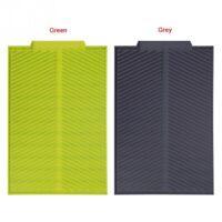 Silicone Dish Drying Mat Flume Folding Draining Mat,Rectangle Drain Mat Dry F7G4