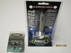 Kawasaki Z1300 Pingel hi flow fuel tap. single feed + reserve c/w adaptor