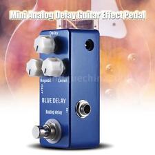 Pro Analog Delay Guitar Effect Pedal True Bypass Zinc-aluminium Alloy Body F6V2