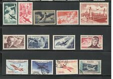 France Airmail Collection Mint Lh And Used