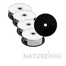 100 Mediarange Black Bottom blank CD-R discs Full Face White Printable 52x 700MB