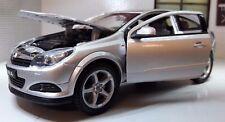 G LGB 1:24 Scale Vauxhall Opel Astra GTC VXR Silver 22469 Diecast Model Car 2008