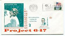 1971 PROJECT 647 MIDAS 11 Integrated Satellite Warning orbit over Russia China