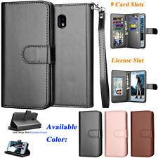 Leather Wallet  Flip Holder Cover For Samsung Galaxy J7 Refine/J7 2018/J7 Star