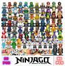 80 Stk Ninjago Mini Figures Kai Jay Sensei Wu Kinder Building Blocks Toys
