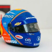 2019 Fernando Alonso Mclaren Indy 500 Replica 1:2 Scale Helmet