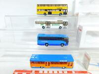 BX369-0,5# 4x Wiking 1:87/H0 Bus: 731 MAN Berlin + 702 Mercedes, sehr gut+OVP