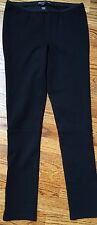 Elizabeth and James Black Stretch Pants with Ankle Zipper - Size 2