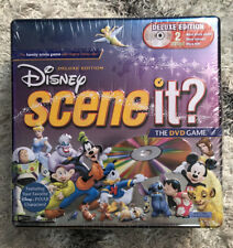 Disney Scene It? Deluxe Edition DVD Trivia Game Metal Collectors Tin NEW SEALED