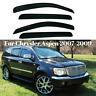 Window Visor Deflector Vent Sun Rain Guard Shade For Chrysler Aspen 2007-2009