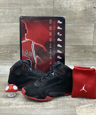 Nike Air Jordan XXI 21 Retro Countdown Day Black Red CDP White 322717-061 7.5
