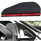 Soft PVC Mirror Rain Board Eyebrow Guard Visor Fit For Car SUV Accessories Black
