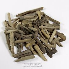 Natural water worn small pieces of driftwood for arts and crafts 75g