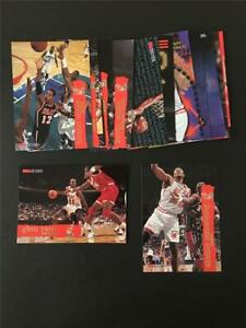 1995/96 NBA Hoops Miami Heat Team Set 14 Cards