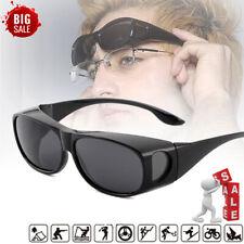 Polarised Sunglasses Over Glasses Wrap Around Sunglasses UV400 Over