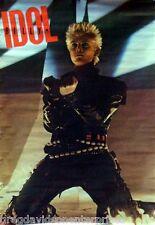 Billy Idol 22x34 Rebel Yell Era Poster 1984