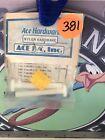 Vintage Rc Parma Nylon Hardware #734 1/4x20x2 Screw Orignal NewOldStock