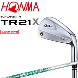 Honma Golf Japan TOUR WORLD TR21 X Single Iron #3.4.5or11 NSPRO950GH neo 2021c