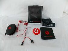 DR Dre Power Beats 2 Wireless Bluetooth Earphones Used Red Great Condition Clean