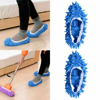 1x Lazy Dusting Cleaning Foot Cleaner Shoe Mop Slipper House Z5E4 Cover G8G4