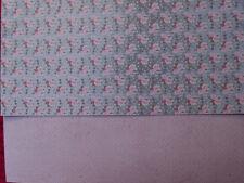 Ursus - A4 - Fotokarton - Shabby Rose - Motiv 01 - Rosen auf türkis - 300 g/m²