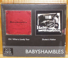 BABYSHAMBLES Oh! What a lovely tour / Shotter's Nation  2CD + DVD ltd edition