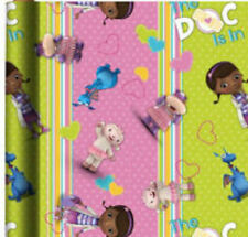 DOC MCSTUFFINS WRAPPING PAPER ROLL GIFT WRAP ANY OCCASION 20 SQ. FEET
