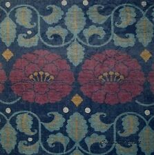 Indoor/Outdoor Contemporary Floral  Nicoll Pillow Top Fabric Panel New