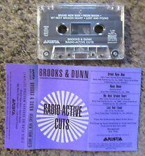 "BROOKS & DUNN ""RADIO-ACTIVE CUTS"" 1991 4TRX.NM ADVANCE COUNTRY RADIO PROMO TAPE"
